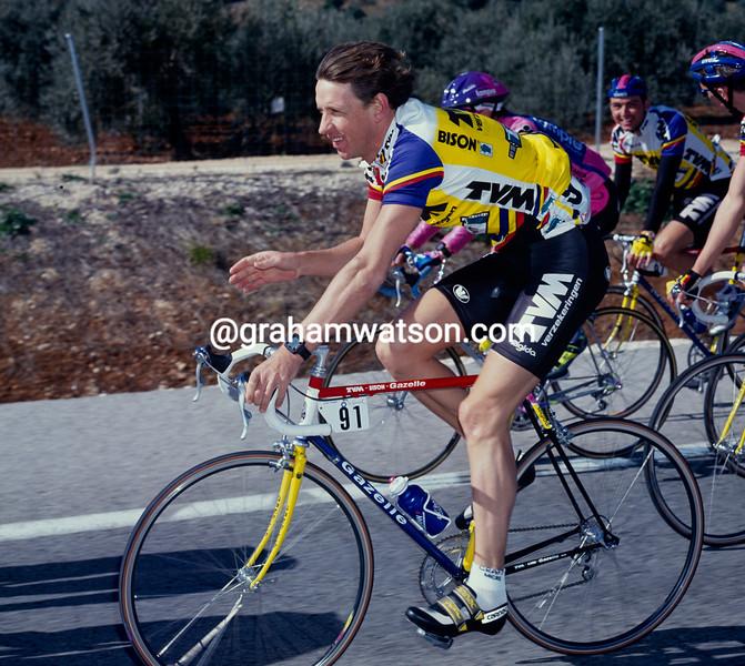 Steven Rooks in the 1991 Ruta del Sol