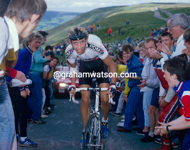 Steven Rooks in the 1990 Tour of Britain