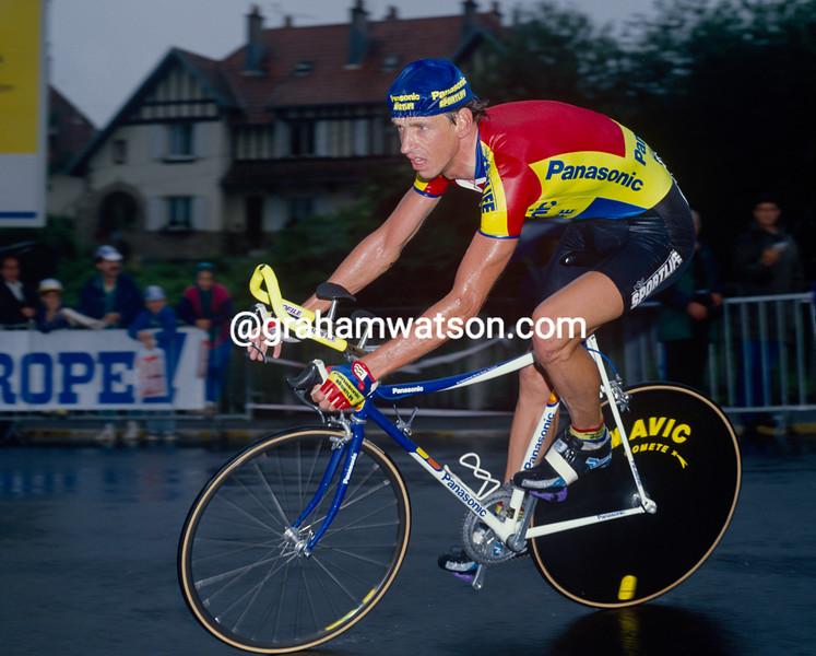 Steven Rooks in the 1990 Tour de France