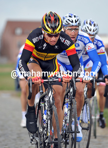 STIJN DEVOLDER IN THE 2008 KUURNE-BRUSSELS-KUURNE