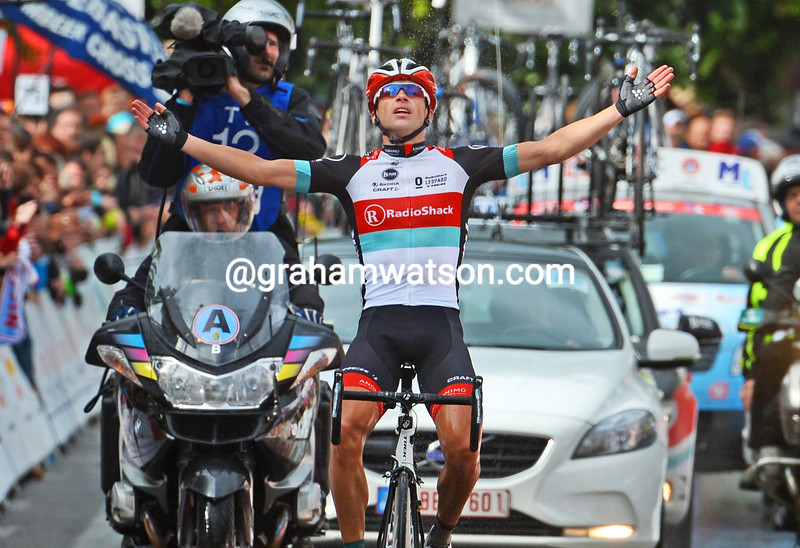 Stijn Devolder wins the Belgium Road Championship