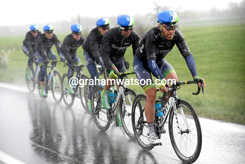 Svein Tuft and Green Edge on the 2014 Milan-San Remo