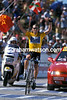 Lance Armstrong wins at Plateau de Beile in the 2002 Tour de France