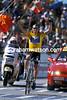Lance Armstrong wins at Plateau de Beile in the 2002 Tour de France