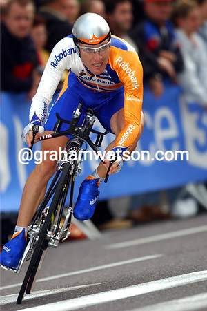 Levi Leipheimer in the 2002 Tour de France Prologue