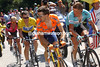 Jan Ullrich and Haimar Zubeldia look back at Lance Armstrong in the 2003 Tour de France