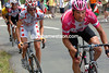 Jan Ullrich attacks on stage 15 of the 2005 Tour de France