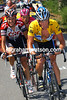 Lance Armstrong defends his Yellow Jersey ahead of Ivan Basso and Jan Ullrich
