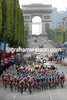 The 2005 Tour de France on the Champs Elysees in Paris