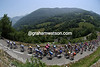The 2005 Tour de France climbs a stage in the Pyrenees