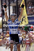 George Hincapie wins a stage of the 2005 Tour de France at Pla d'Adet