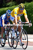 Tom Boonen in the race leader's yellow jersey in the 2006 Tour de France