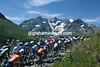 The 2006 Tour de France climbs the Col du Galibier on stage 16 to La Toussuire