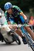 George Hincapie in a Tour de France time trial in 2007