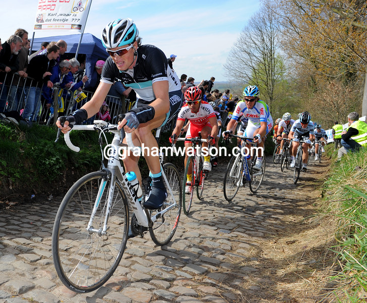 Tom Stamsnijder in the 2011 Tour of Flanders
