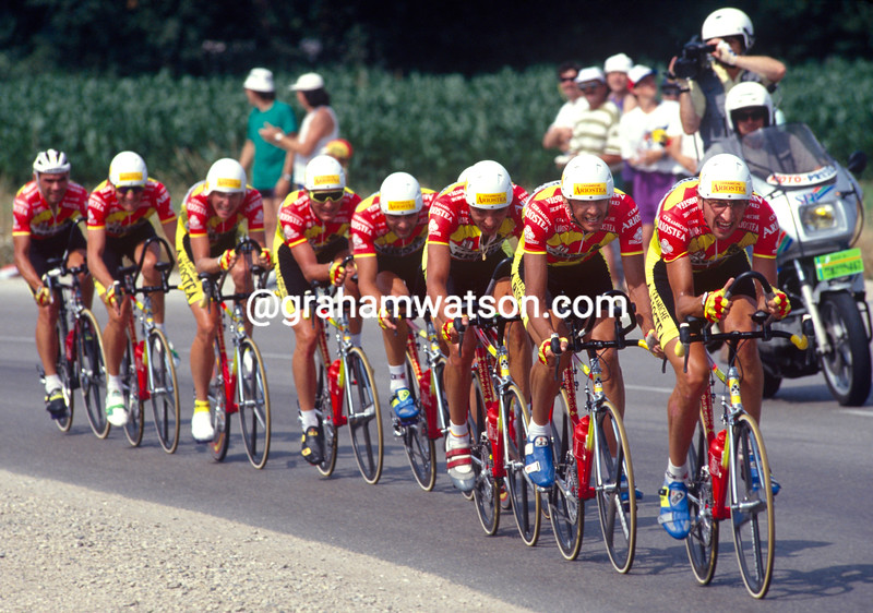 The Ariostea team in the 1993 Tour de France