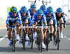 Team Garmin on stage two of the 2012 Tour of Qatar