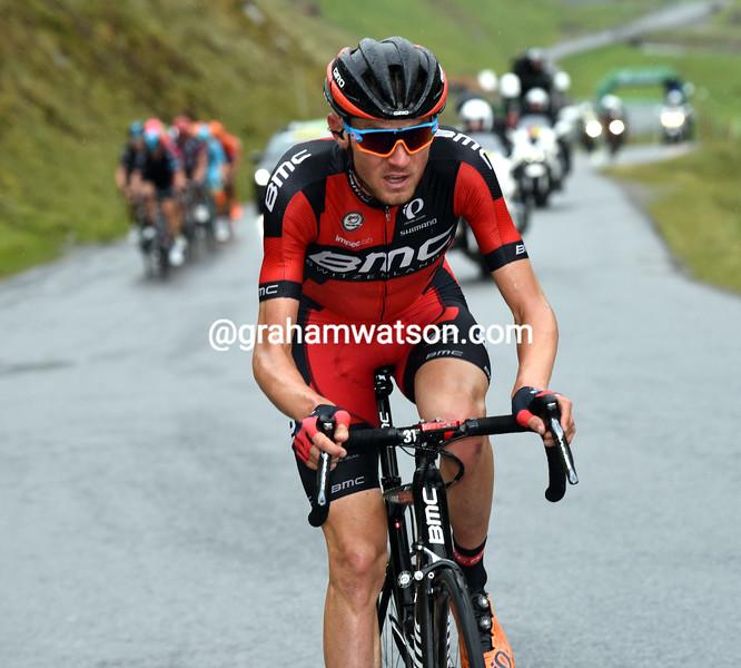 Tejay Van Garderen on Stage 7 of the 2016 Tour de Suisse
