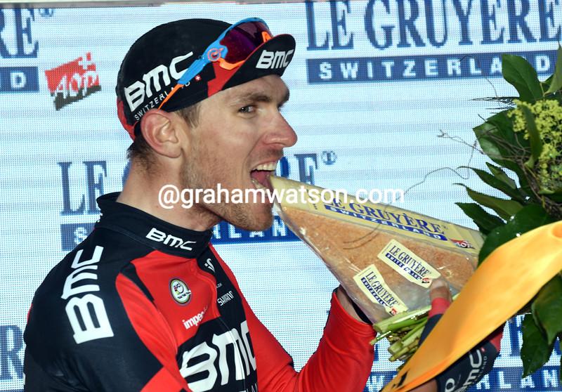 Tejay Van Garderen wins Stage 7 of the 2016 Tour de Suisse