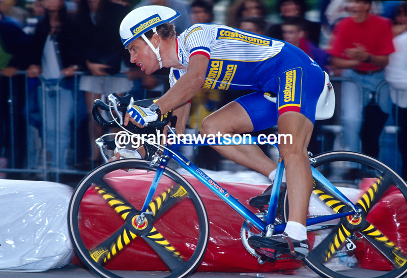 Thierry Marie in the 1992 Tour de France