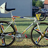 The bicycle of Thierry Marie before the 1991 Tour de France