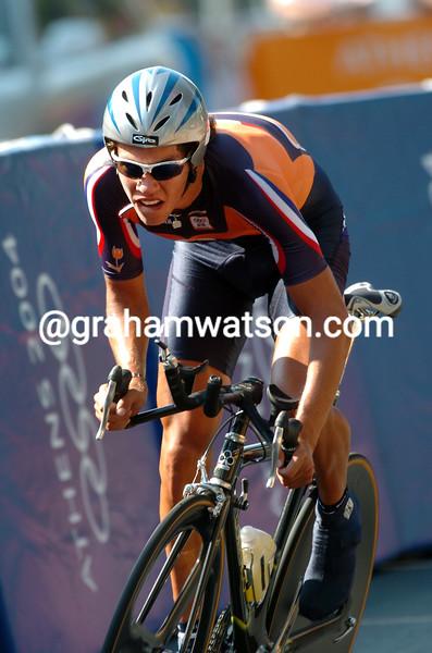 Thomas Dekker in the 2004 Olympic Games