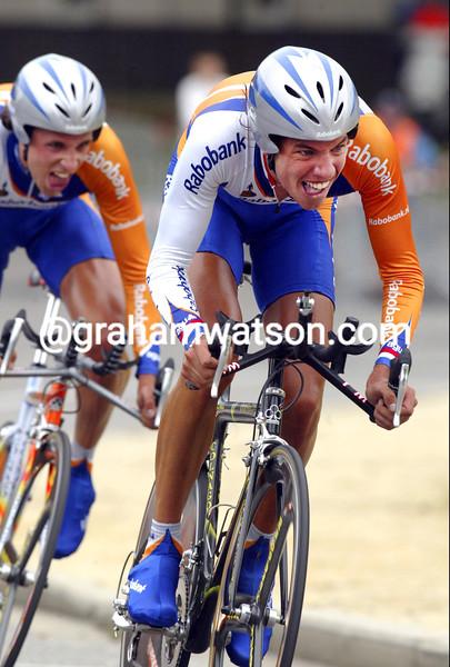 Thomas Gekker in the 2004 G.P. Eddy Merckx
