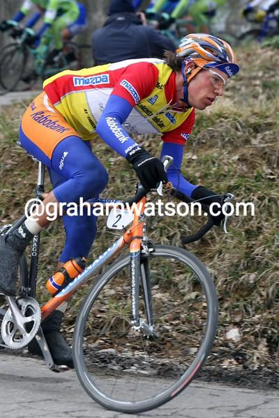 Thomas Dekker in the 2006 Tirreno-Adriatico