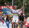 THOR HUSHOVD WINS STAGE SIXTEEN OF THE 2011 TOUR DE FRANCE