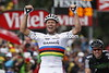 Thor Hushovd wins stage 16 of the 2011 Tour de France