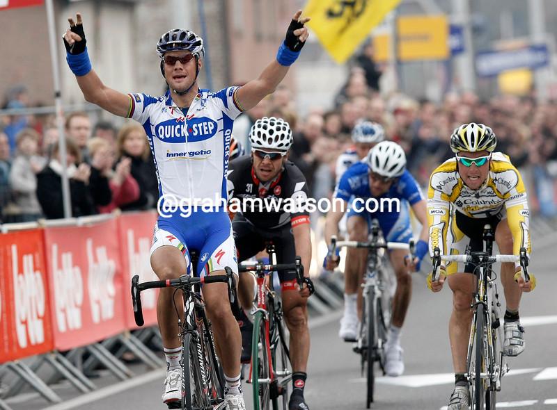 TOM BOONEN WINS KUURNE-BRUSSELS-KUURNE