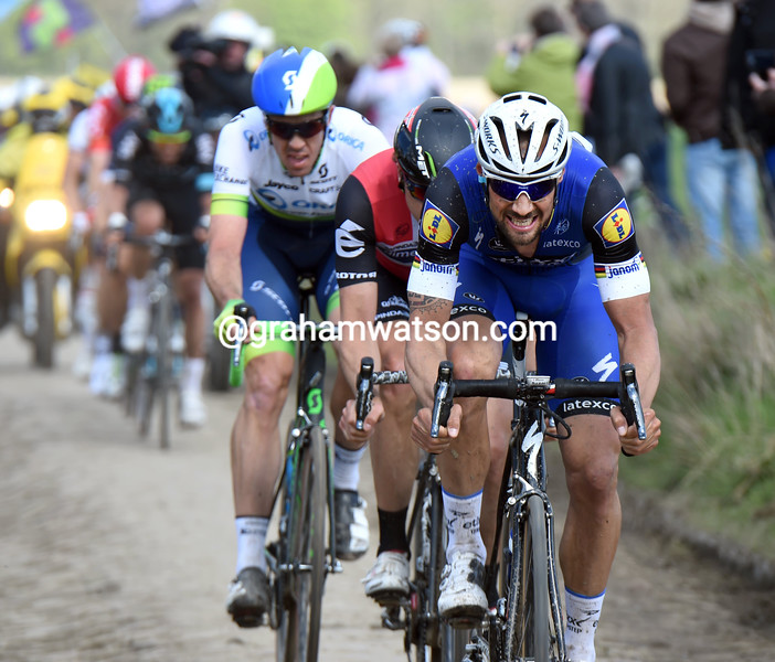 Tom Boonen in the 2016 Paris-Roubaix