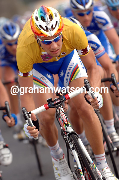 TOM BOONEN DURING THE 2006 TOUR OF QATAR