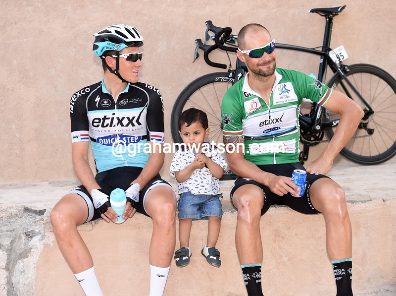 Tom Boonen before stage two of the 2015 Tour of Oman