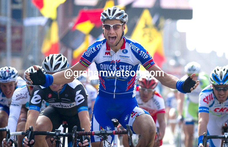 TOM BOONEN WINS THE 2011 GHENT WEVELGEM