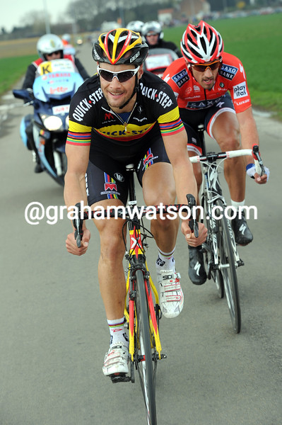 TOM BOONEN IN THE 2010 TOUR OF FLANDERS