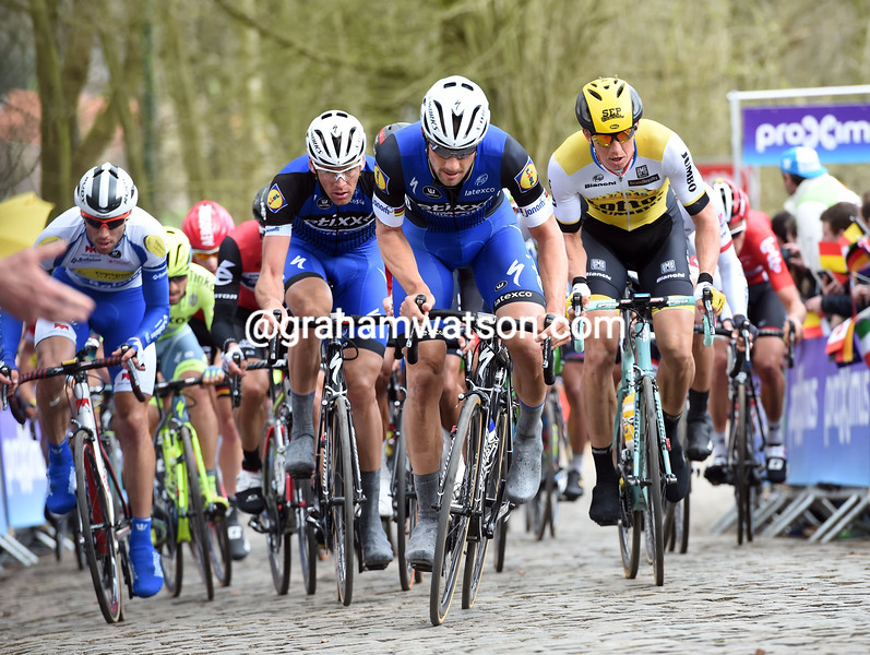 Tom Boonen in the 2016 Ghent-Wevelgem