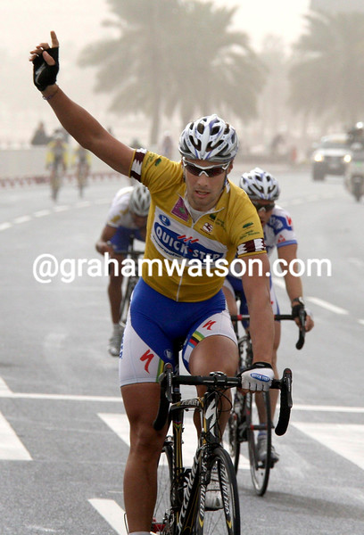 TOM BOONEN WINS STAGE SIX OF THE TOUR OF QATAR