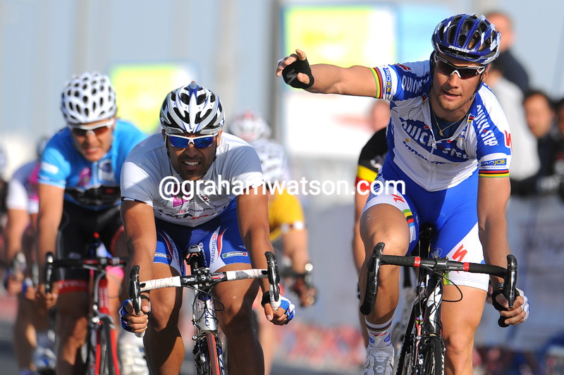 TOM BOONEN WINS STAGE FOUR OF THE 2009 TOUR OF QATAR