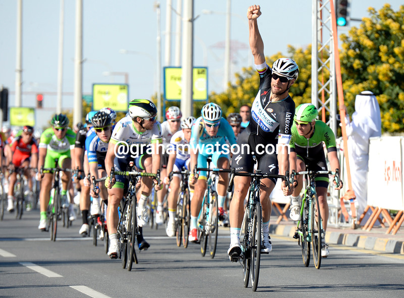 Tom Boonen wins stage 4 of the 2014 Tour of Qatar