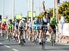 Tom Boonen wins after beating Andre Griepel on a stage that has averaged almost 57-kilometres-per-hour..!  (Stage 4, 2014 Tour of Qatar)