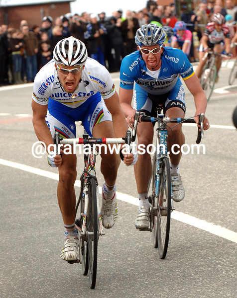 Tom Boone in the 2006 Tour of Flanders