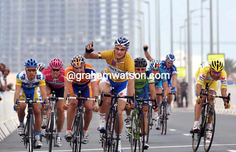 TOM BOONEN WINS STAGE FOUR OF THE TOUR OF QATAR
