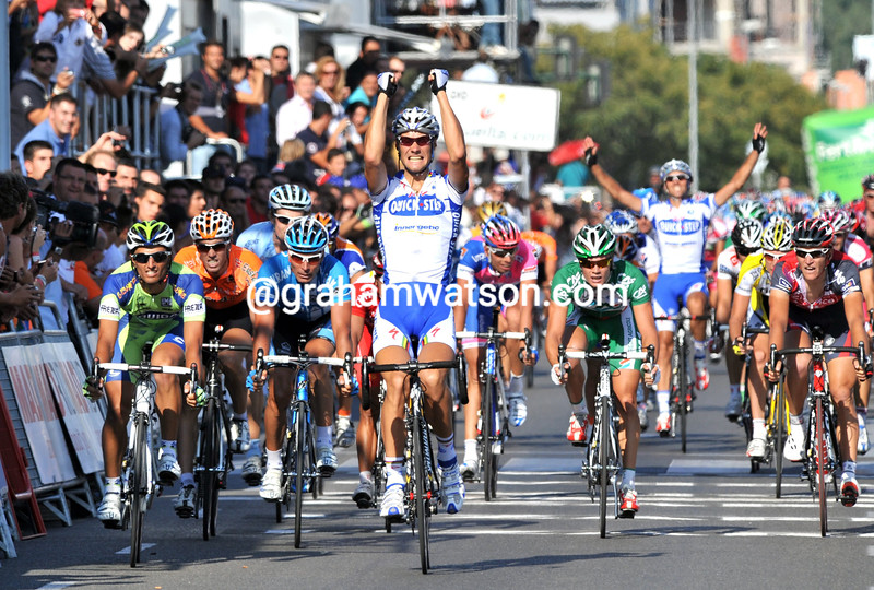 TOM BOONEN WINS STAGE THREE OF THE 2008 TOUR OF SPAIN
