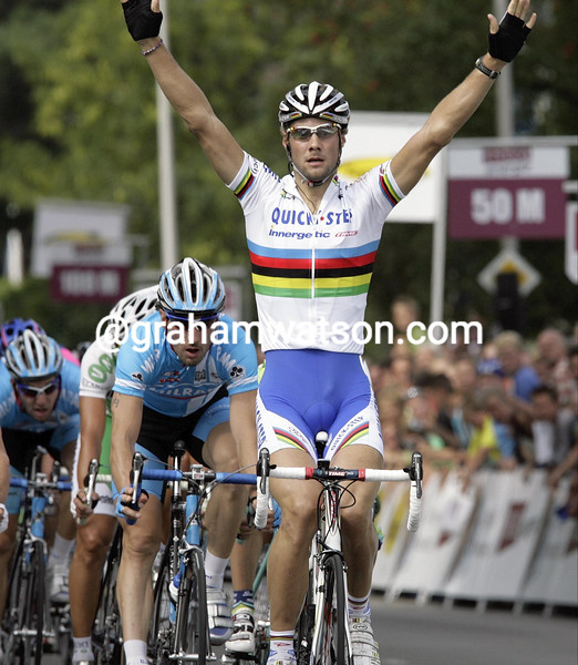 TOM BOONEN WINS STAGE ONE OF THE ENCO TOUR
