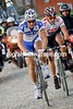 TOM BOONEN AND FABIEN CANCELLARA IN THE 2008 E3 PRIJS HARELBEKE