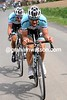 Tom Boonen leads an ecape in the 2012 Paris-Roubaix