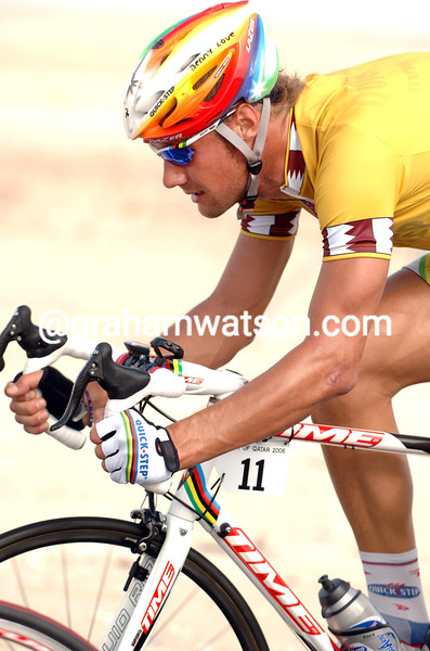 TOM BOONEN IN THE 2006 TOUR OF QATAR