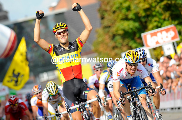 TOM BOONEN WINS STAGE THREE OF THE 2009 ENECO TOUR