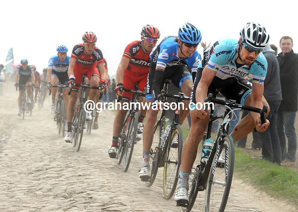 Tom Boonen in the 2012 Paris-Roubaix